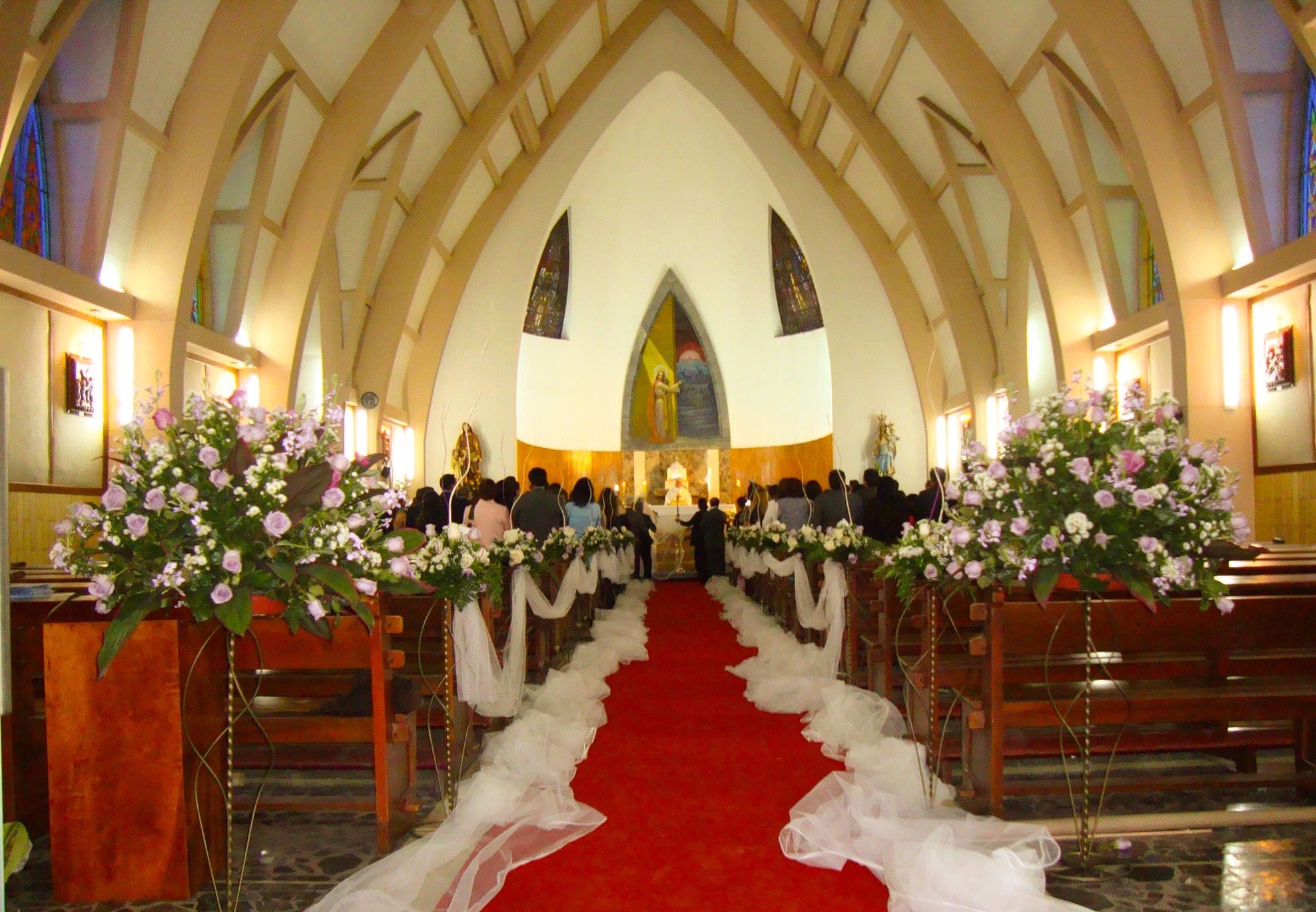 Decoracion de iglesia para matrimonio grandes tips - Decoracion bodas ...