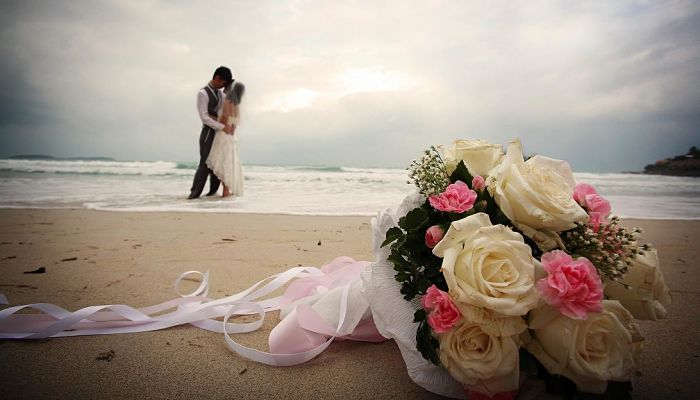 ideas originales para bodas de playa