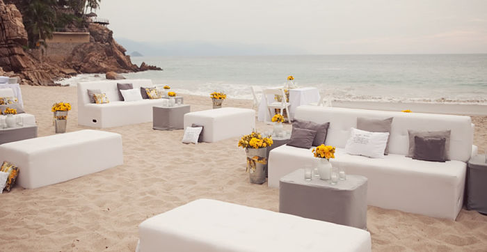 como decorar una boda en la playa