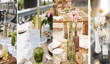 Botellas Decoradas Para Bodas: ¡Las Ideas Más Originales!